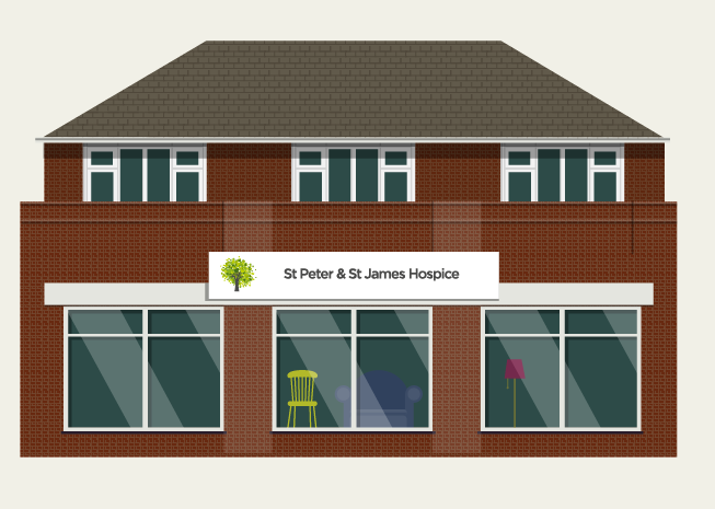 Our charity shops - St Peter & St James Hospice